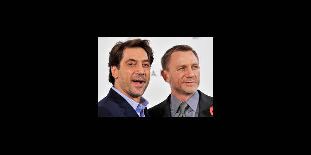 "Javier Bardem prochain adversaire de James Bond dans ""Skyfall"", attendu en 2012 - La Libre"