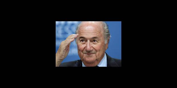 """Blatter se dit """"désolé"""" de ses propos sur le racisme mais exclut une démission - La Libre"""