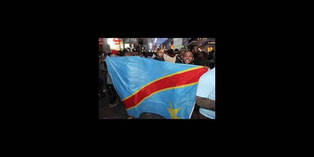 Une manifestation pro-Tshisekedi dégénère à Bruxelles - La Libre