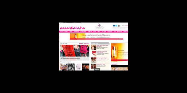 Le Web féminin est Essentielle - La Libre