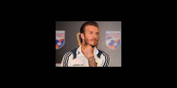 David Beckham ne viendra pas au Paris SG