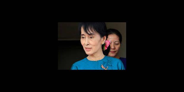 """Aung San Suu Kyi: """"Nous devons être humbles"""" - La Libre"""
