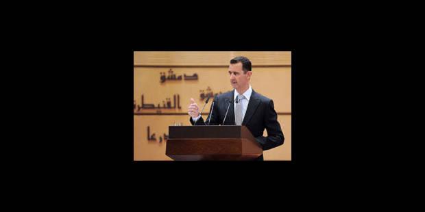 Damas rejette le plan de la ligue arabe - La Libre