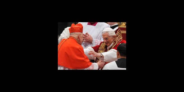 Le cardinal Ries salué par ses pairs