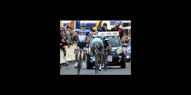 Sep Vanmarcke crée la sensation au Circuit Het Nieuwsblad