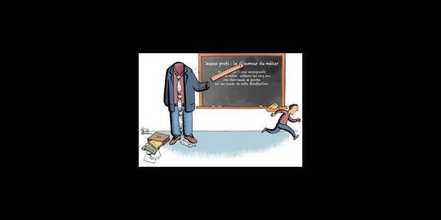 Jeunes profs: le désamour du métier - La Libre
