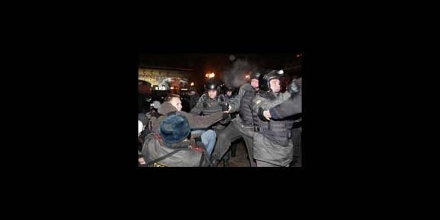 Des centaines de militants anti-Poutine arrêtés