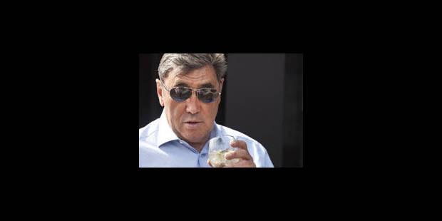 Eddy Merckx n'aurait jamais du être coureur professionnel - La Libre