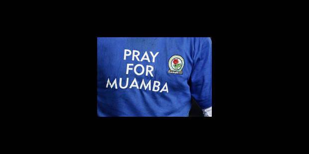 L'état de santé de Muamba continue de s'améliorer - La Libre
