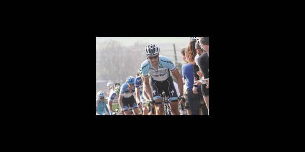 Tom Boonen inarrêtable à Wevelgem