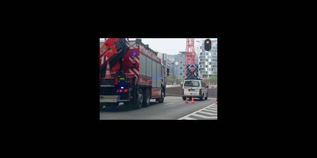 Grave accident : le tunnel Belliard est fermé - La Libre