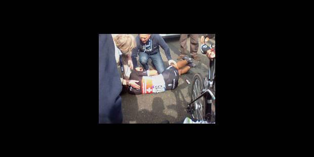 Triple fracture de la clavicule pour Fabian Cancellara - La Libre