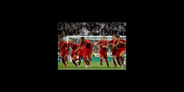 Le Bayern se qualifie au bout du suspense - La Libre