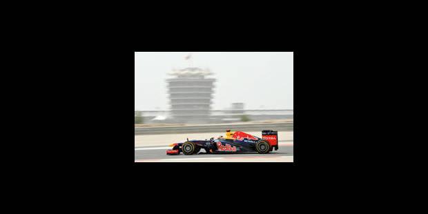 Sebastian Vettel en pole position - La Libre