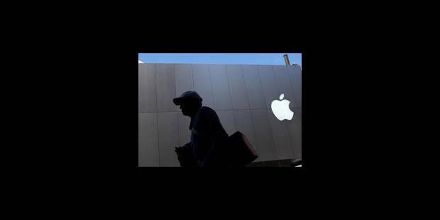 Apple double ses bénéfices - La Libre