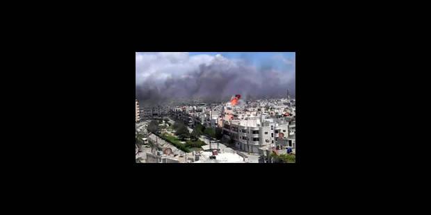 Des centaines de militaires pour observer la Syrie - La Libre