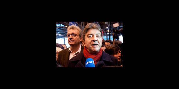 """Toutes les réactions: Mélenchon appelle à """"battre Sarkozy"""" - La Libre"""