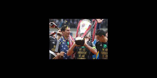 Anderlecht est champion (1-1) - La Libre