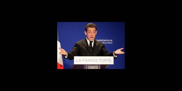 Pour Sarkozy le fonceur, le goût terrible de la défaite - La Libre