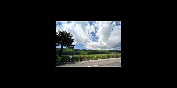 victoire de Pozzovivo lors de la 8e étape du Giro - La Libre
