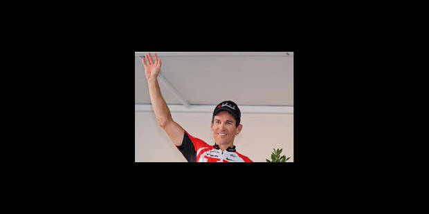 Robbie McEwen pend son vélo au clou