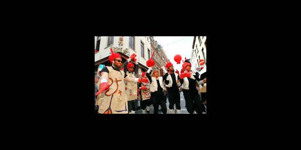 Joyeux désordre dans les rues du centre - La Libre