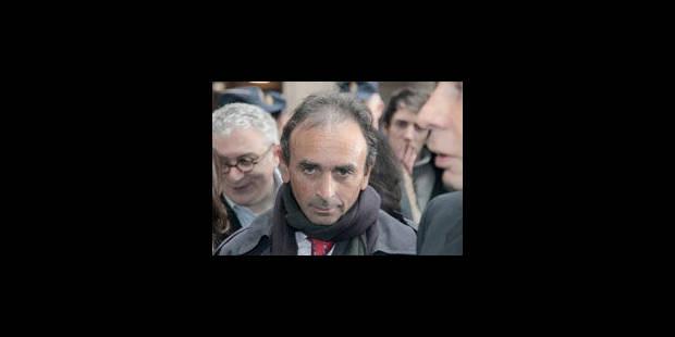 Eric Zemmour menacé de mort - La Libre