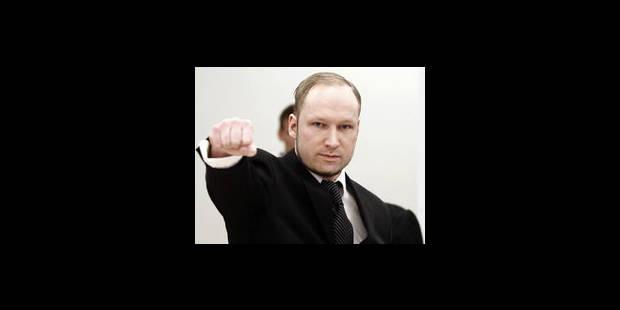 Le Parquet demande l'internement psychiatrique de Breivik