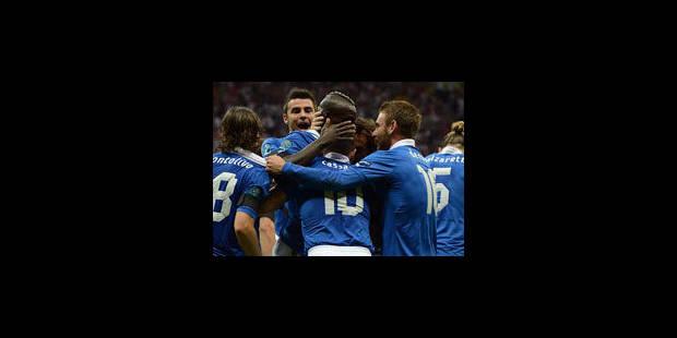 Super Mario expédie l'Italie en finale