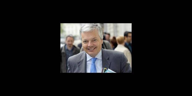 Reynders: un contrôle budget sans miracle à attendre - La Libre