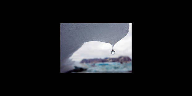 Un iceberg géant se détache d'un glacier du Groenland