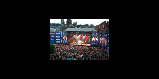 Francofolies : moins de festivaliers, plus de qualité - La Libre