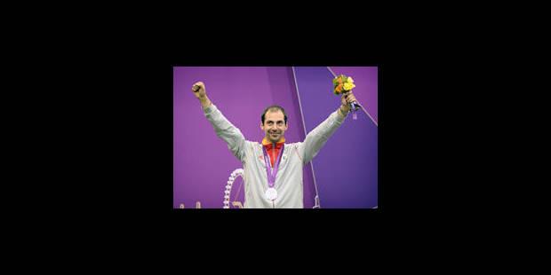 Lionel Cox médaillé d'argent du tir couché