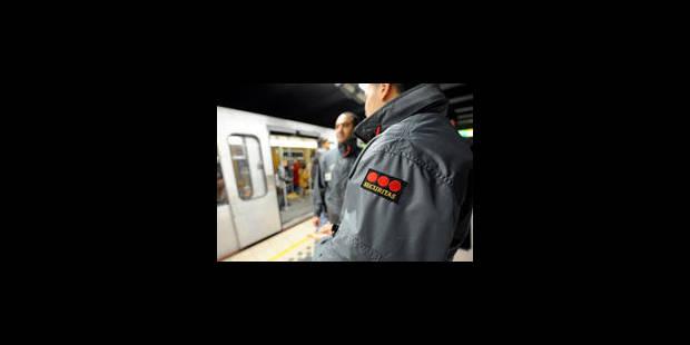 Dix-huit délits par jour dans les transports publics - La Libre