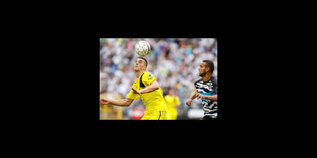 Le FC Brugeois vainqueur 0-1 au Sporting Charleroi