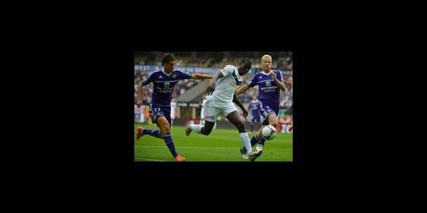 Anderlecht laisse Bruges s'envoler (2-2) - La Libre