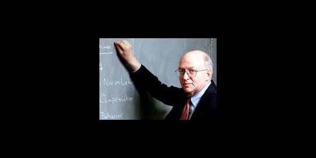 Martin Feldstein : thérapie de choc d'un eurosceptique - La Libre
