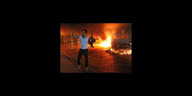 """L'attaque """"terroriste"""" du consulat de Benghazi"""