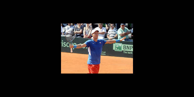 Coupe Davis : Berdych guide la République Tchèque en finale contre l'Espagne - La Libre