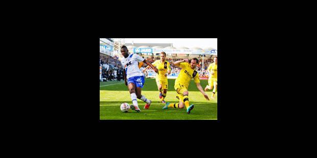 Bruges et Gand partagent après un match palpitant (2-2)