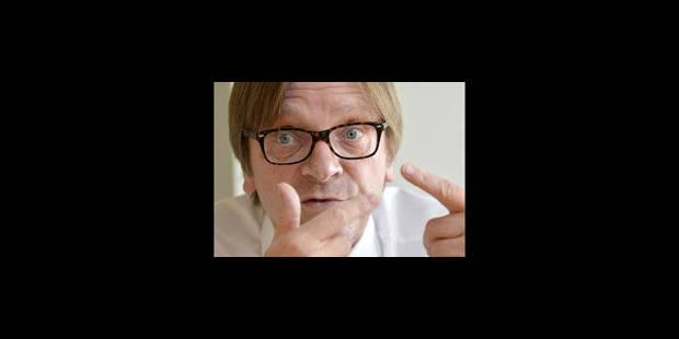 """Verhofstadt : """"L'Etat nation est dépassé"""" - La Libre"""