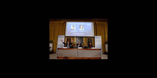 Le Nobel de Chimie à deux chercheurs américains - La Libre