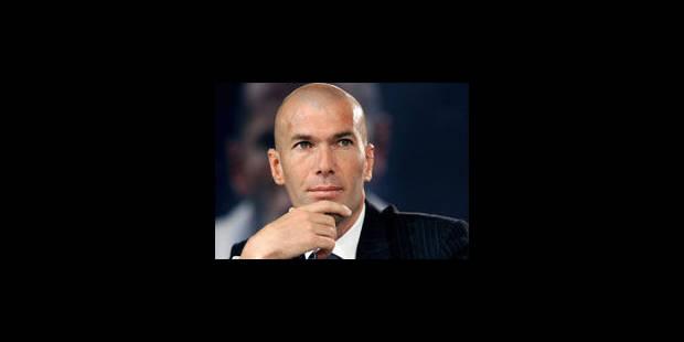 Zidane va passer ses diplômes d'entraîneur - La Libre