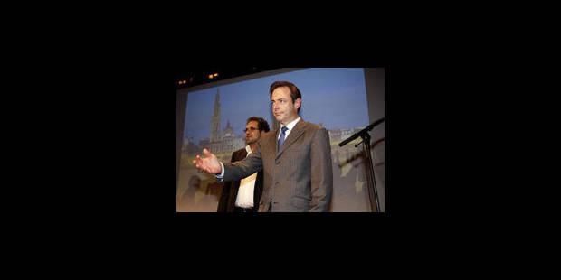 Anvers : De Wever fait la part belle à la sécurité - La Libre