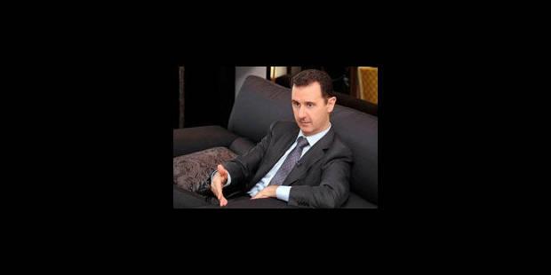 """Assad veut """"vivre et mourir en Syrie"""" - La Libre"""