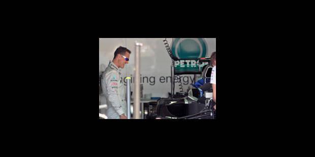 Schumacher veut profiter de ses adieux - La Libre