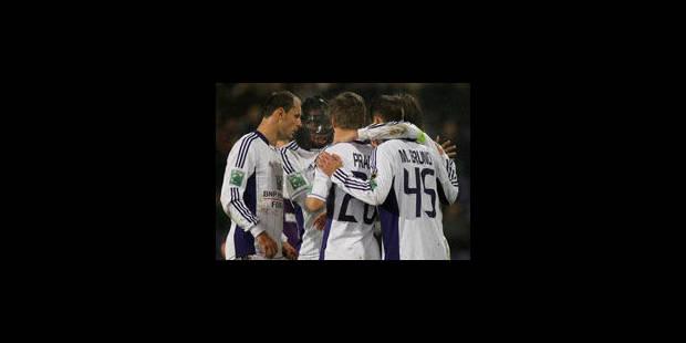 Anderlecht écrase un faible Beerschot