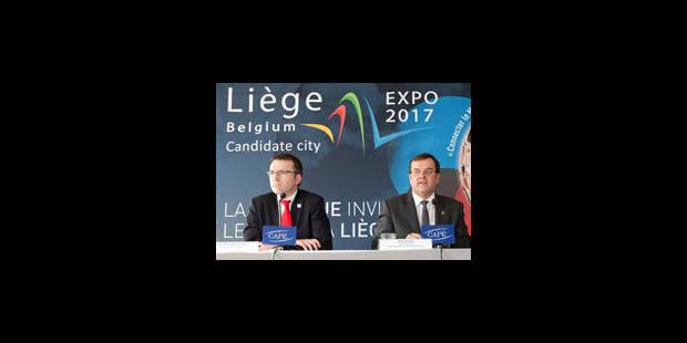 Expo 2017: Liège loupe le coche et les réactions pleuvent