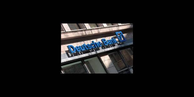 Scandale à la Deutsche Bank