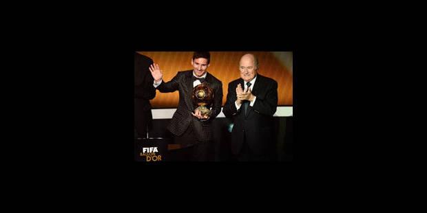 Ballon d'Or: 4e sacre historique pour Messi - La Libre